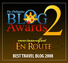 Ironwulf.net is Best Travel Blog for 2008
