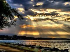 Takvimdeki Deniz (CengiZ Ai) Tags: sunset sea fab sun sunshine clouds sunrise turkey photography colours