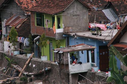 Nicht so gute Viertel in Jogja
