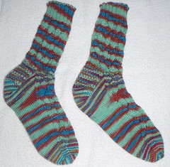 Zig Zag Socks