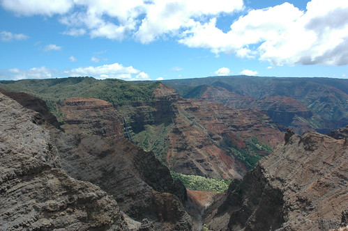 Kauai - Waimea Canyon - Cliff And Canyon Trails