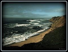 Maverick's california (EricRendon) Tags: california blue sky beach water surfing mavericks mywinners