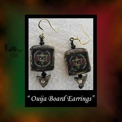 Ouija Board Earrings