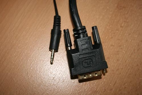 DVI->HDMI y jack 3,5 mm de audio