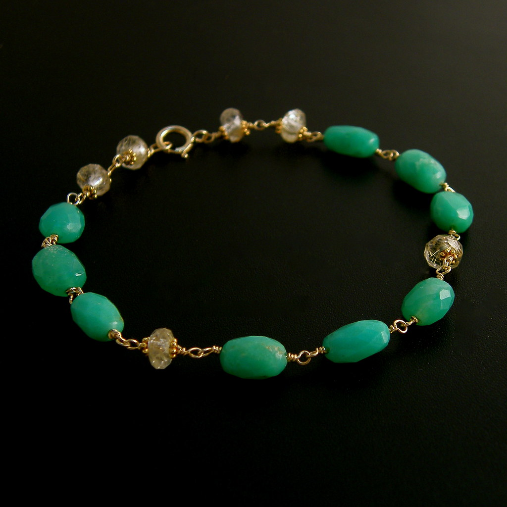 Laura Bracelet- 18k Solid Gold Luxury Collection