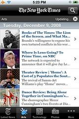 NYT iPhone