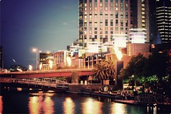 The Yarra burns into the night (Stephen.James) Tags: city by photoshop fire for amazing colours vibrant centre flames uploaded may australia melbourne victoria casino cbd popular kristine flares demand yaythankyouuud