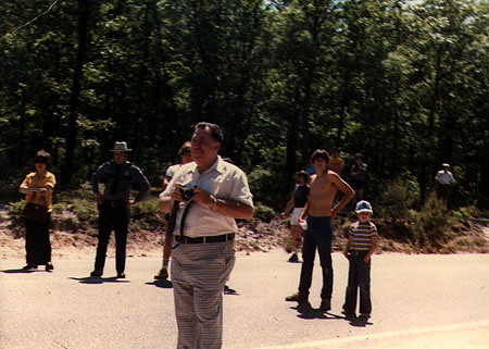 Joseph Francis Periale at Lacey Day, Forked River, NJ, c. 1979