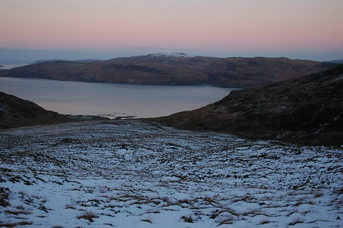 Early Morning Glow over Loch Na Keal