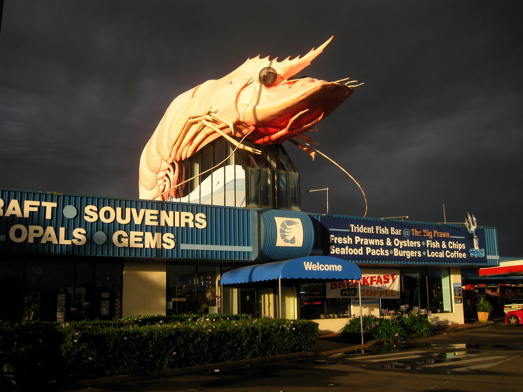 Big Prawn Fish