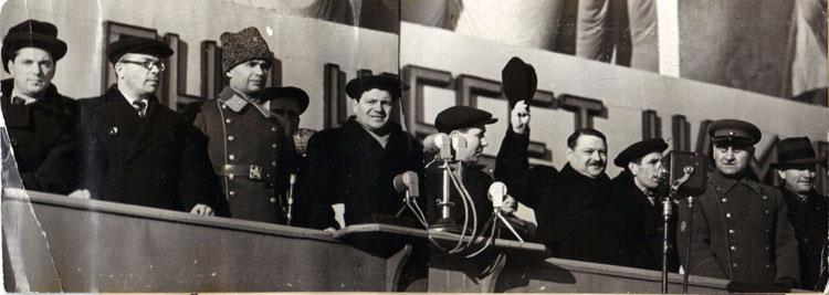 Ленинград 7.11.1940. Фотограф Б.Вдовенко