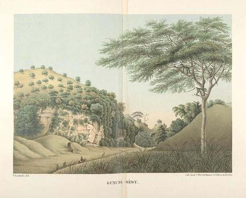 Java seine Gestalt, Pflanzendecke und innere Bauart 1857 (Junghuhn) Gunung-Sewu