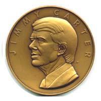 1977 Carter Inaugural Medal obv