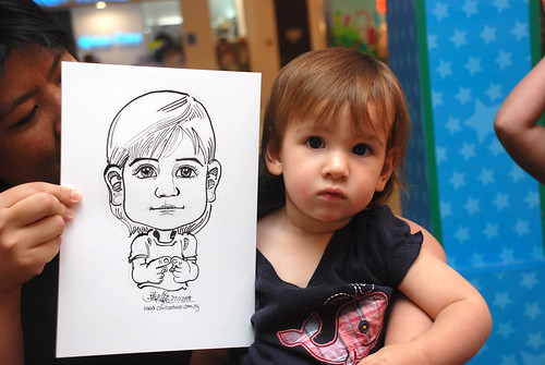 Caricature live sketching for Marina Square Day 2 - 13
