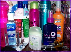 Colors for the  lady (Bob the Real Deal) Tags: girls colors shop shopping women colours perfume buddies kodak 10 dove makeup stuff ladys wife needs cosmetics dresser johnsons windowshopping daddysgirl lotions purell onthe borntoshop kodakz712iszoom