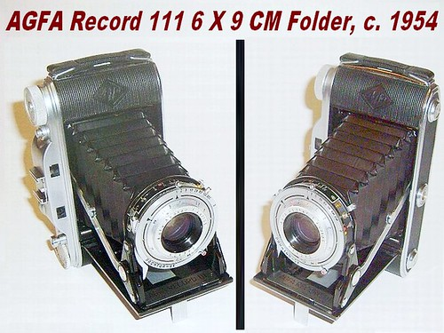 AGFA Record 111, With f4.5 Apotar and Prontor SV