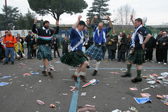 Dancing Kilties (FotoFling Scotland) Tags: italy man rome male men fashion freedom scotland dance kilt rugby beef scottish fans pissed scots tartan kilted sporran sixnations scotsman postmatch kiltie scotsmen freeballing kiltlad kiltedscotsman kiltedman tartankilt andaralogringo andarstrike