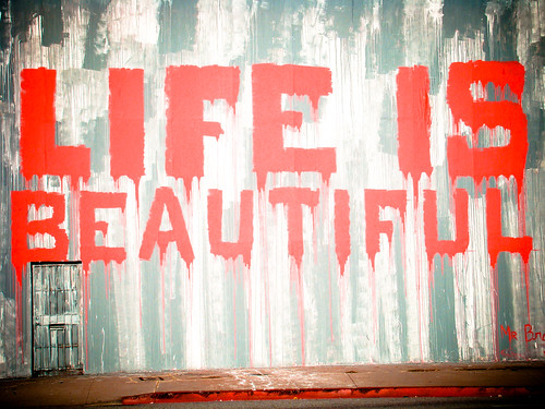 "Mr. Brainwash ""Life is Beautiful"""