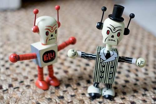 Gamma-Go Deathbot & Undertaker