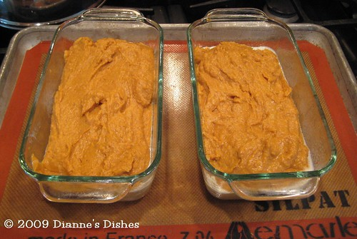 Pumpkin Bread: Ready to Bake