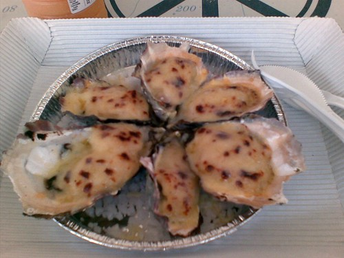 Oyster Mornay@Fisheries on the Spit