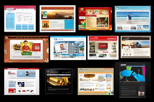 Web Design Portfolio 2008