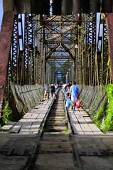 Panama-Costa Rica Border (IRainyDays) Tags: bridge costarica border panama