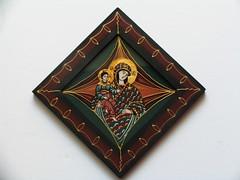 maica Domnului cu pruncul (cod MDP9) (Marius Paciu Art) Tags: icons jesuschrist religiousart byzantineicons cultobject religiousrepresentations