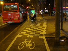 En bici per Meridiana