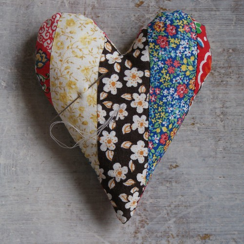 heart pincushion