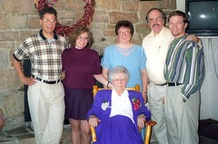 90th Birthday (Joe Shlabotnik) Tags: rich peter helen nancy crop 1997 sue verne july1997