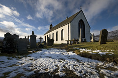 Amulree Church (Zog the Frog) Tags: sky snow perthshire amulree churchofscotland sigma1020