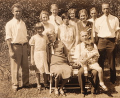 Mary & George Swigert, their sons and their wives