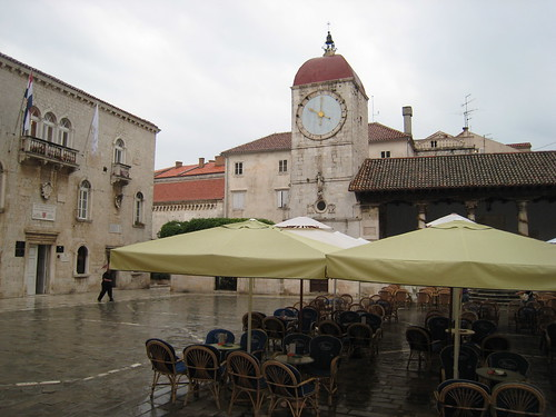 Market square in Trogir