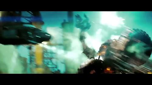 Transformers 2 Constructicon atacando