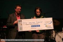 Marine Blandin - Prix du strip di afnews