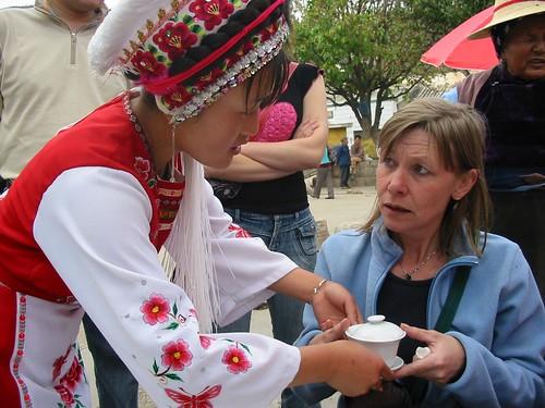 Kop 1 van een Three Course Tea Menu