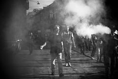 MayDay 09 (AKA Dabol_G) Tags: street bw milano bn urbanjungle manifestazione primomaggio hoipolloi chefotodelcavolo gliamici cronacheurbane jovaninho mayday09 deliriocosmico chehofatto chiconoscelaragazzainmanichecortesulcamiondellan7 drughino