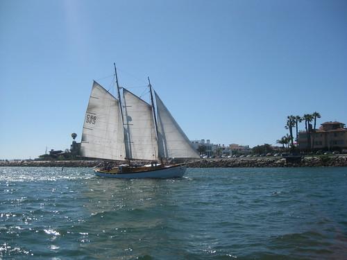 del sailboat marina boat sailing coco rig rey sail isabella schooner gaff cocobella