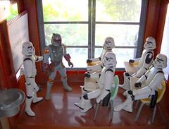 CAREER DAY (explored!) (tomo_moko) Tags: starwars stormtrooper bobafett year2 stromtroopers stormtrooperhighschool