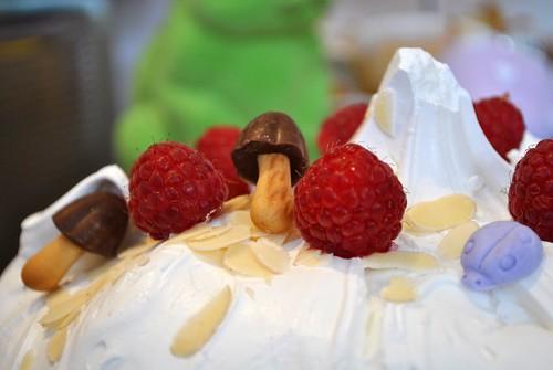 Woodland meringue