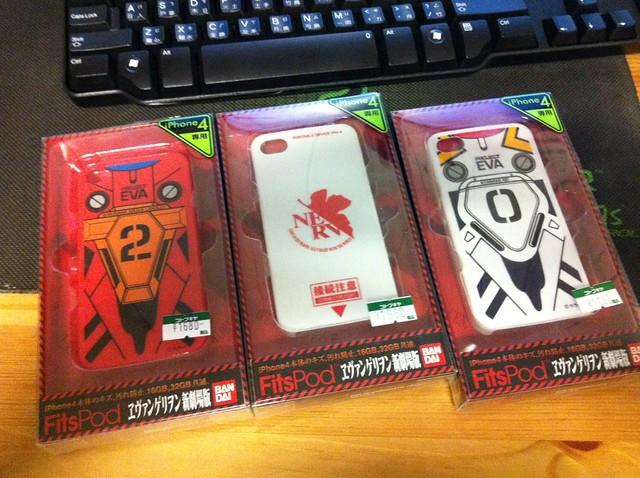 福音戰士iPhone4手機殼
