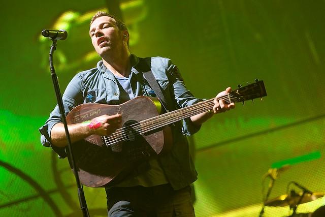 Coldplay - Glastonbury Festival - June 2011 - © Al de Perez