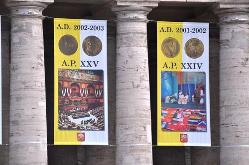 Anno XXIV e XXV di Pontificato