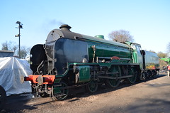 Schools 925 'Cheltenham' (_J @BRX) Tags: midhants watercressline hampshire england uk steam preservation trains railway locomotive train mhr steamgala ropley sr southern schools classv 925