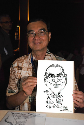 Caricature live sketching Hypercoat Enterprises Pte Ltd 3