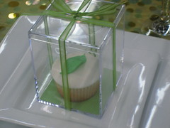 Green Leaf Wedding Cupcake Favors (cupcakesnouveau) Tags: birthday party dessert cupcakes bridalshower florida miami events gourmet cupcake weddings custom couture babyshower favors coralgables organize catering specialevents partyfavors deliciouscupcakes customdesigned couturecupcakes gourmetcupcakes cupcakesnouveau cupcakesmiami customdesignedcupcakes weddingsorganize