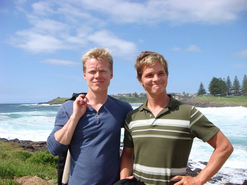 Jens and I in Kiama, NSW.