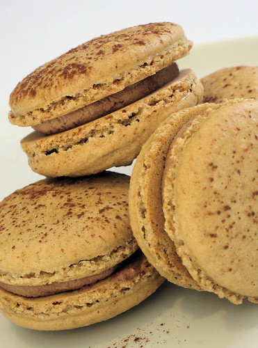 Coffee Macarons with Nutella Cream 2725