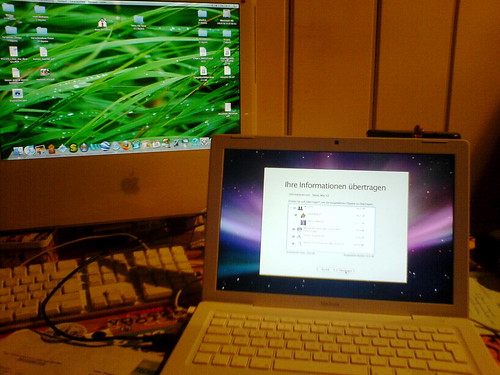 From iMac to MacBook with TimeMachine
